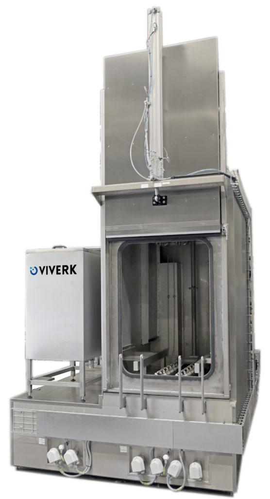 Viverks härdtvätt är en funktionsanpassad tvätt som anpassats och gjorts speciellt lämplig för att avlägsna rester från härdningsprocesser.