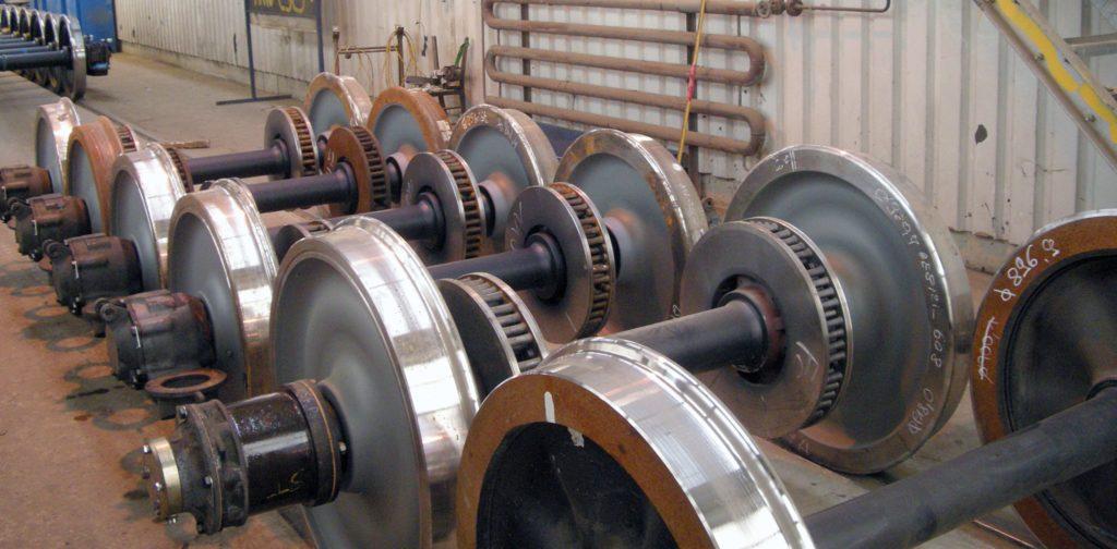 Tåghjul måste undersökas regelbundet, och då krävs renhet för att kunna avgöra hjulens skick.