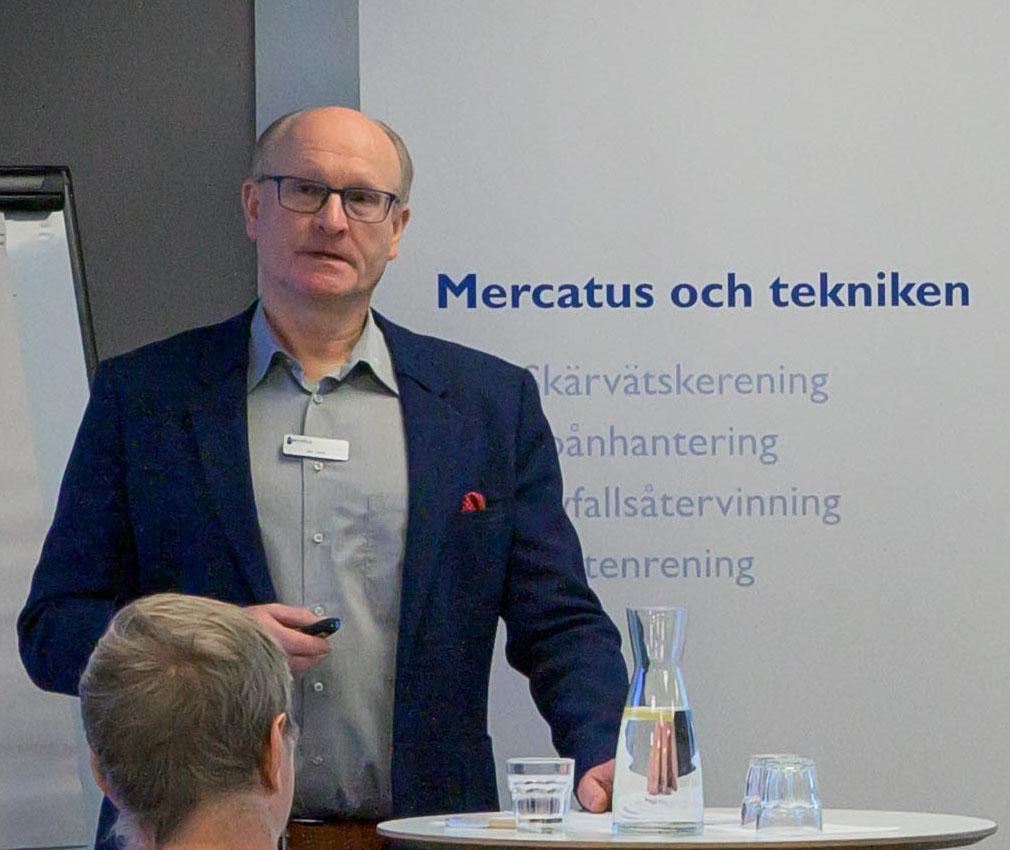 Jan Alsér och Herman Selin från Mercatus. Foto: Herman Selin, Mercatus.