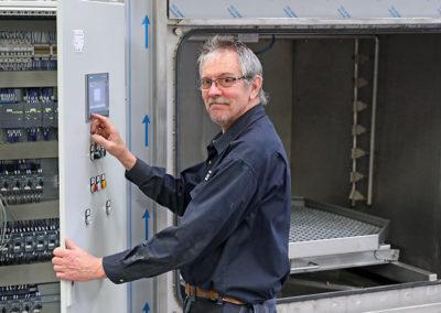Ronny Pettersson har jobbat 40 år på Viverk