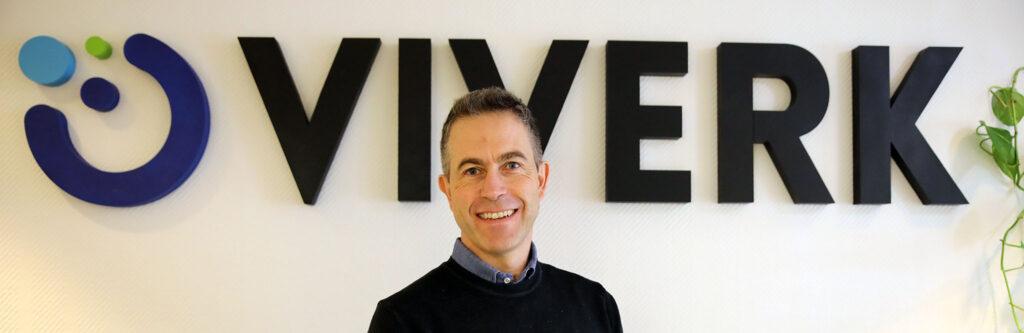 Michael Wickell, vd på Viverk AB.