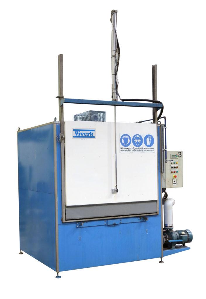 Begagnad industritvättmaskin – Viverk VKT-164-P kammartvätt