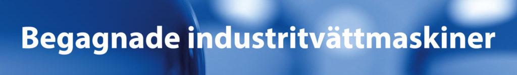 Begagnade industritvättmaskiner