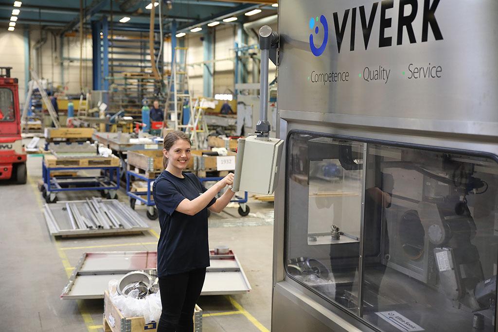 Jonna Crona är Viverks nya Supply chain manager med gedigen erfarenhet av logistik och projektledning från fordonsbranschen.