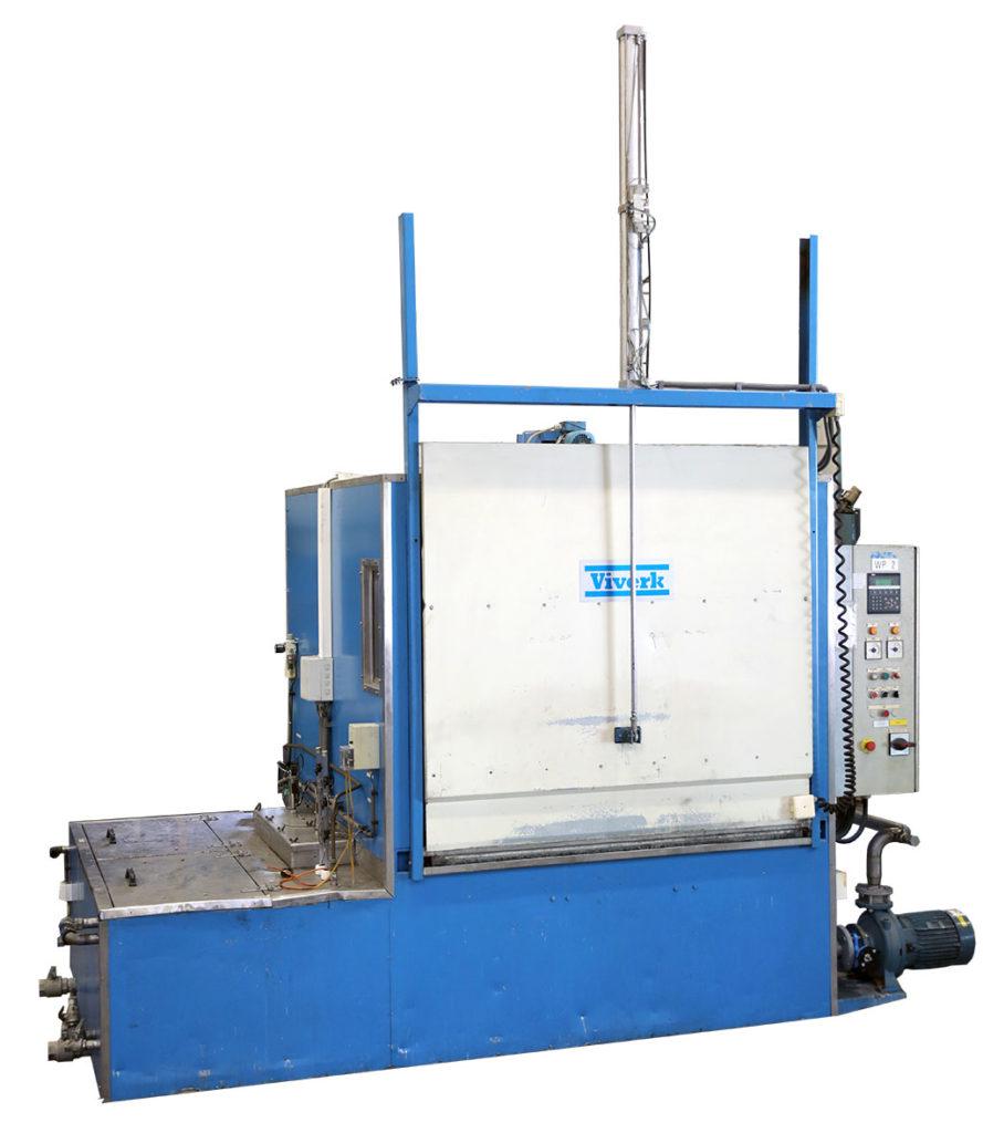 Begagnad industritvättmaskin – Viverk VKT-164-P2 kammartvätt
