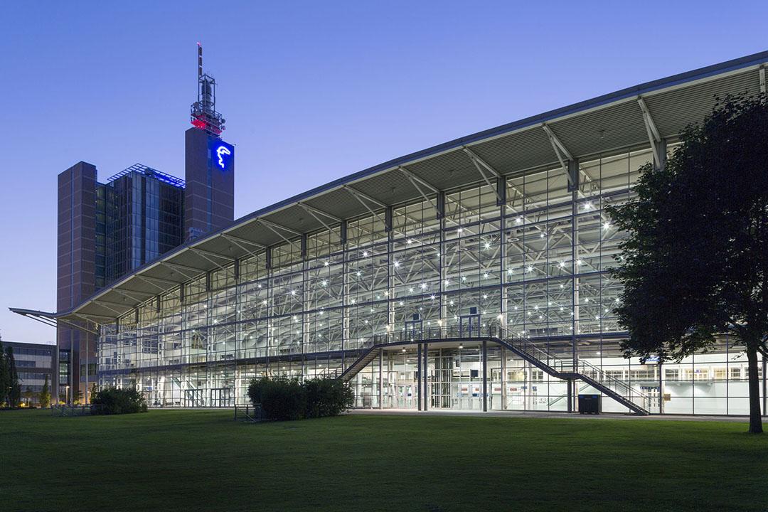 Messegelände, Aussenaufnahme der Halle 2. © Deutsche Messe AG - All Rights reserved